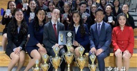 美华裔高中生获加州演讲赛冠军