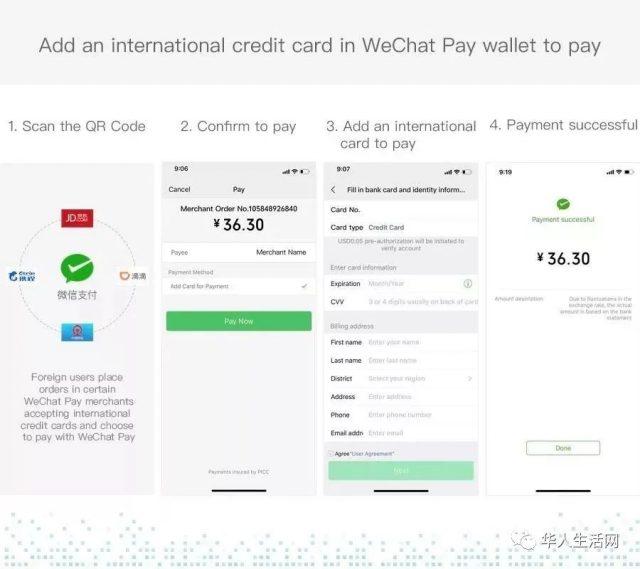 刚刚!微信能绑定美国信用卡了!Visa、万事达卡同时官宣!