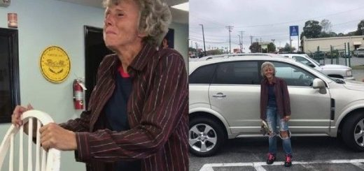 美国60岁妇每天徒步20公里回家,热心同事帮忙募款买新车送她