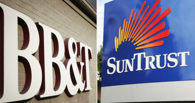 BB&T和SunTrust银行合并获美联储批准