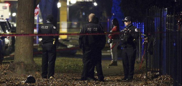 芝加哥周日凌晨爆枪案 酿至少13伤