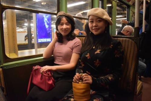 纽约的时光穿梭机 华人复古打扮体验老纽约