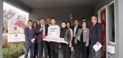"""加州""""免费""""送房子 华女移民15年 迎来最幸运圣诞礼物"""