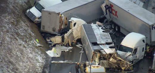 宾州高速车祸酿数十死伤 传翻车巴士从纽约华埠出发