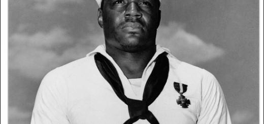美国航母将首次以黑人命名 系珍珠港事件中的水兵英雄