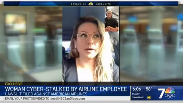 乘飞机收到系列神秘短信 加州女子:像在公共场所赤裸着