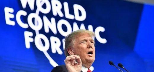 川普达沃斯吹捧美国经济 再度杠上瑞典环保少女