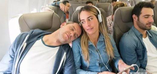 经济舱里如何睡得舒服?记住这18个沙雕睡姿,保证不会挨揍!