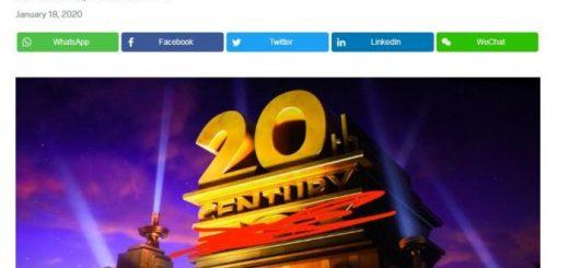 一个时代的终结? 二十世纪福克斯电影公司改名了