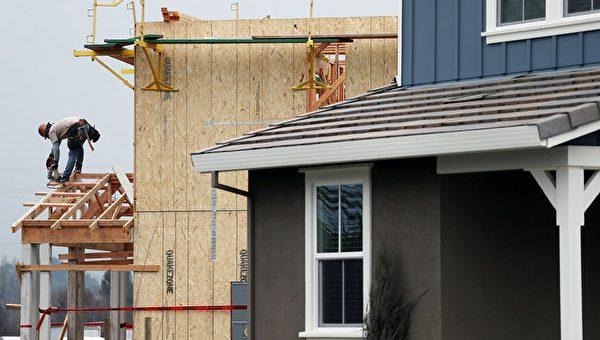 美国房屋建筑上月飙升至13年最高