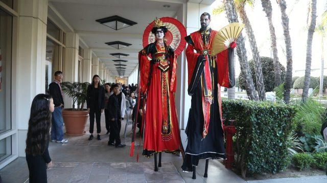 用音乐为中国加油 洛杉矶尼克松总统图书馆举行新春音乐会