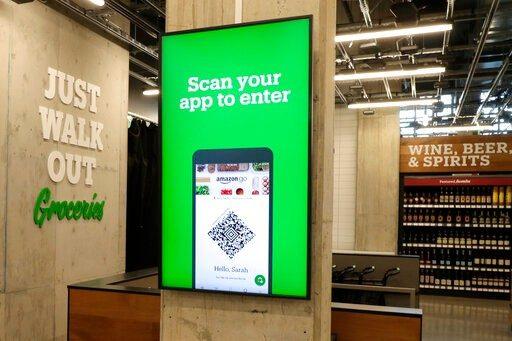 """不需要结账!亚马逊开出首家""""无收银""""超市"""