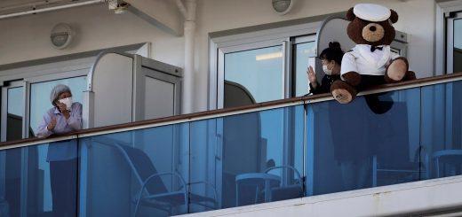 一对美国夫妇在日本钻石公主号邮轮上的隔离生活