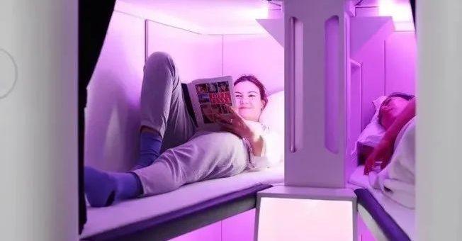 飞美国的经济舱可以躺着,这好事10月就能实现