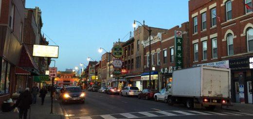 芝加哥中国城2男性头部中枪死亡