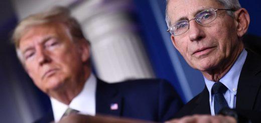 """79岁""""美国版钟南山""""怼特朗普后被禁言?全美都在寻找他的身影"""