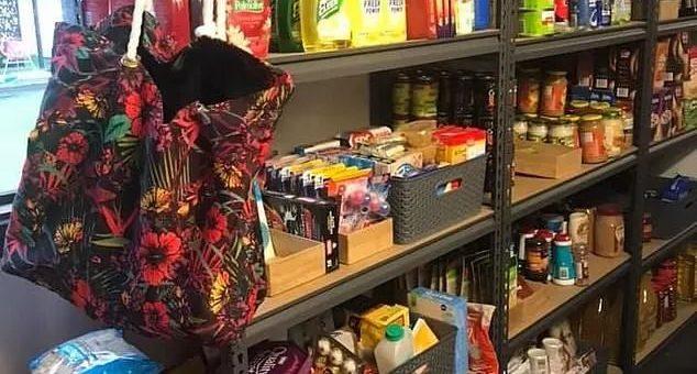 """美国妈妈把自家地下室改成了超市:""""为了预防疫情爆发!"""""""