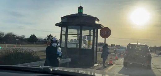 """【美国疫情最前线Vlog7】亲探纽约""""免下车检测站"""":紧张,紧张,紧张!""""震中""""纽约市确诊破万!""""居家令""""生效"""