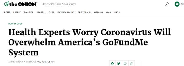 美国疫情有多魔幻:假新闻网站13天前编的假新闻,居然成真