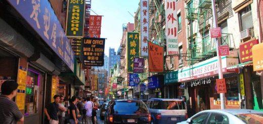 纽约政要华埠用餐 支持华人生意为社区打气
