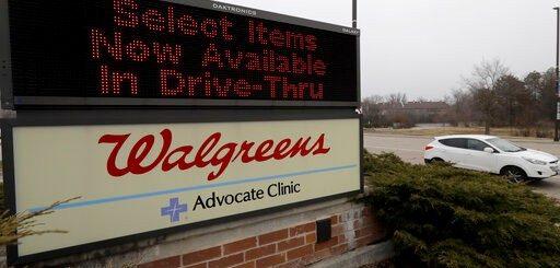 响应川普号召 Walgreens拟7州增设15个免下车新冠检测点