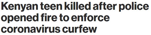 亚裔大叔出门不戴口罩 被警察乱枪击毙! 违反防疫规定有多惨 加拿大人看呆了