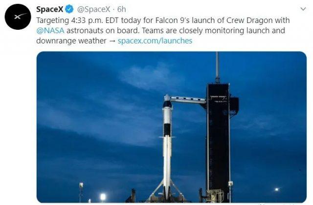 本周六,人类将发射首次由民企主导的载人太空飞船!