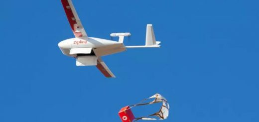 Zipline使用无人机在北卡罗来纳州运送医疗用品和个人防护装备