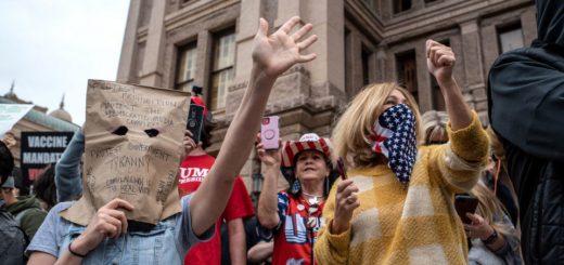 全球重启进行时|北美:反对者花式抗议,全美32州部分重启