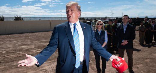 特朗普将花210亿涂黑美墨边境墙,夏天烫到能煎蛋,阻止移民攀爬