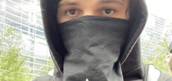 有人已经自首了,20岁无政府主义青年,涉嫌煽动骚乱