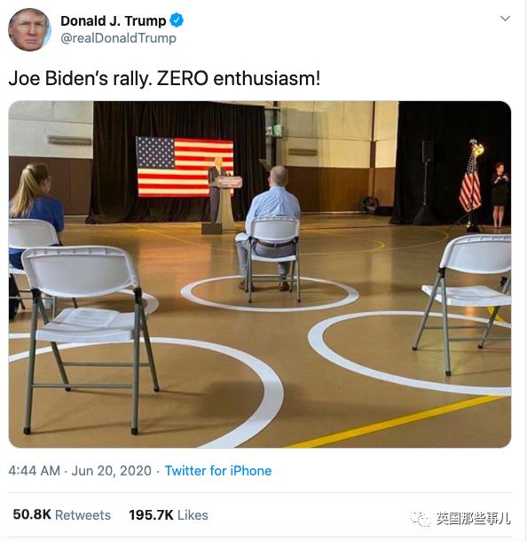 川普三个月后第一次连任竞选集会全程幺蛾子不断,结果他又开始甩锅了...