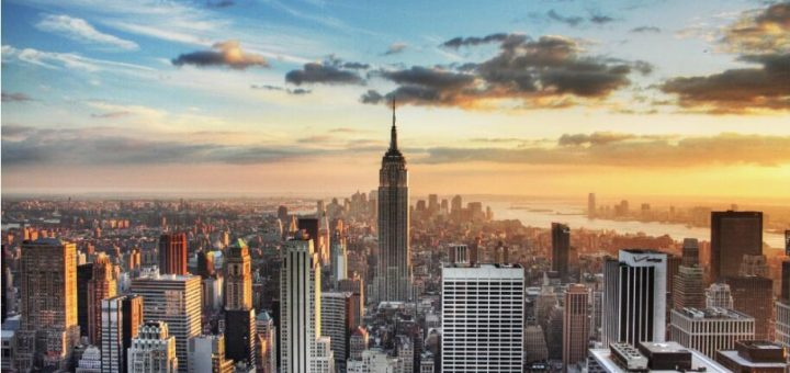 受疫情影响纽约新地产开发数量创全美最高跌幅