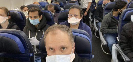 6名华人坐飞机回国感染 登机前阴性 落地后阳性 全机187人隔离 航班熔断!