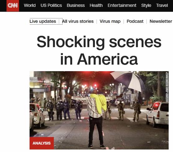 """""""美国出现令人震惊场景"""""""