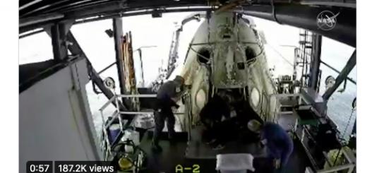 直击 SpaceX的载人飞船回来了!下一步火星?