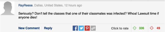 超1200名学生确诊新冠,这所大学依然坚持开学,还不准教授泄露消息?!