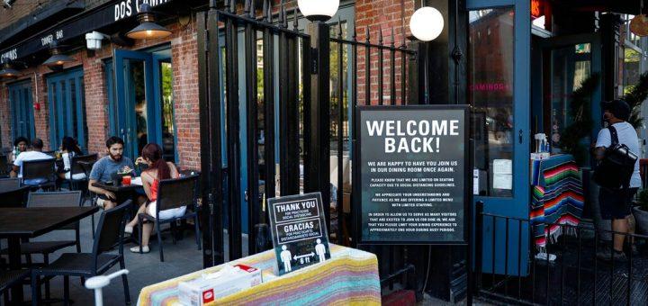 纽约市餐馆户外用餐或永久化 市议会推动立法