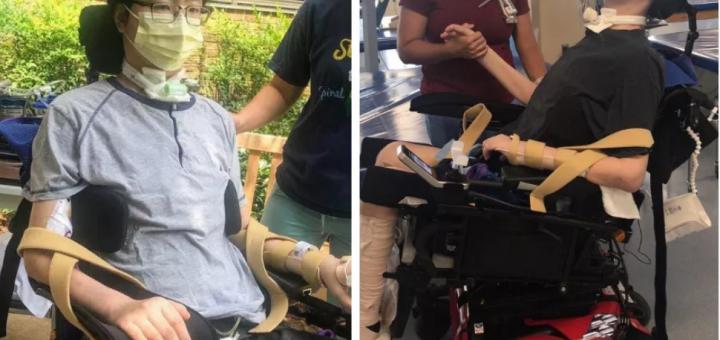 悲歌! 华人医生染新冠 不幸四肢瘫痪! 30多岁的英雄 从此改变一生!