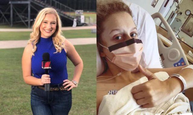 不戴口罩做采访 27岁美女主持感染新冠 痛苦直言再也回不到生病前!