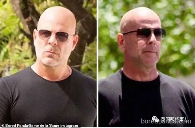 跟明星莫名撞脸,相似度堪比双胞胎,傻傻分不清有木有!