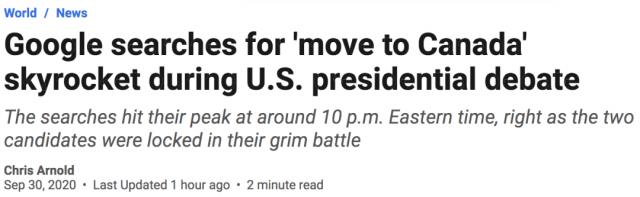 崩溃! 看完川普拜登2老吵架 美国人绝望狂搜