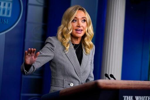 白宫发言人自曝确诊新冠 为无症状感染者