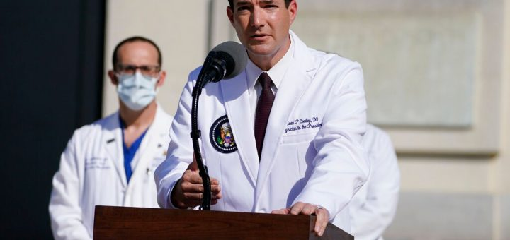 白宫医生:总统已超过24小时无症状 检测出新冠抗体