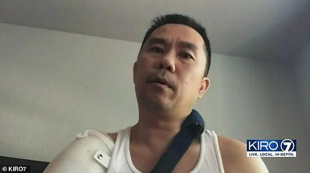 华裔中年男娶白人美女 身中9枪差点没命! 竟是小18岁妻买凶杀人