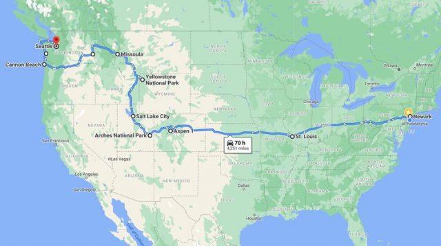 摄影游记-18天独自横穿美国