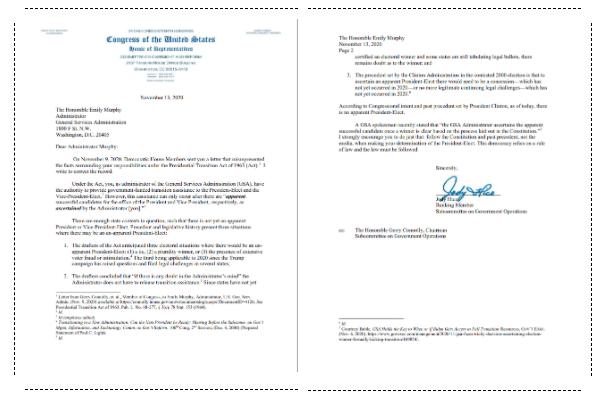 国会发函:总统不由媒体确认!华盛顿游行中打老人偷手机的施暴者被抓!