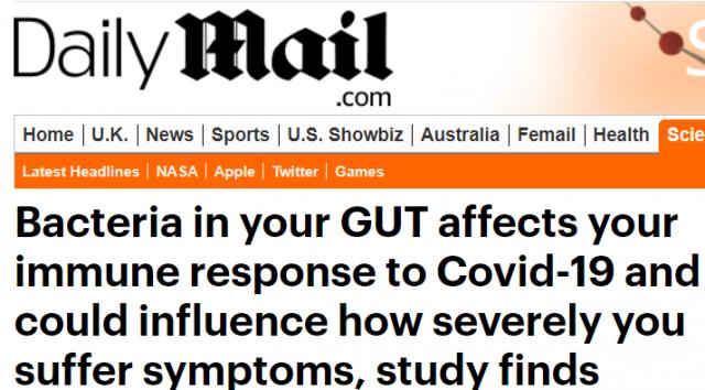 惊! 研究表明 肠胃不好恐更易患新冠重症 这样吃饭危险 病毒加速侵蚀器官!