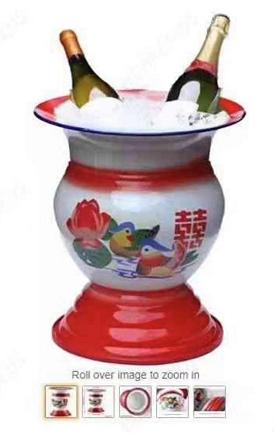 """中国痰盂在亚马逊火了!称可放水果和红酒,增加家里""""中国古典风"""""""
