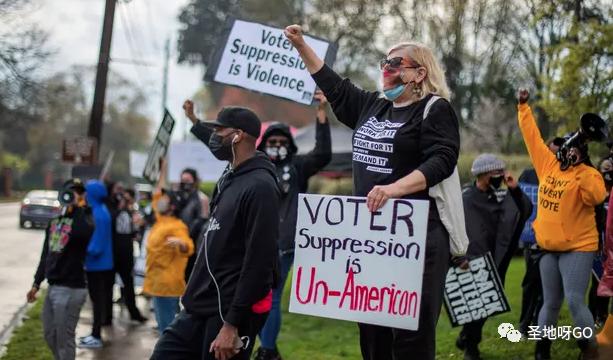防止舞弊,佐治亚州打响选举改革战,拜登:这非常不美国!